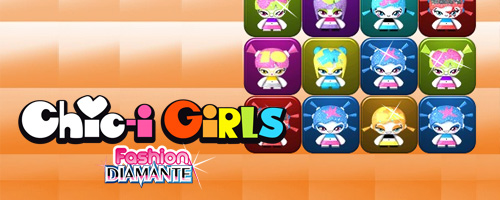 Chic-i Girls Fashion Diamante